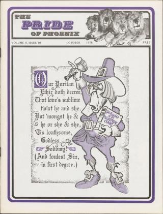 The Pride of Phoenix, Vol 2, Number 10 (October, 1978)