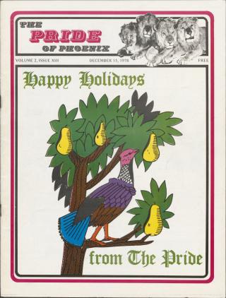 The Pride of Phoenix, Vol. 2, Number 13 (December, 1978)