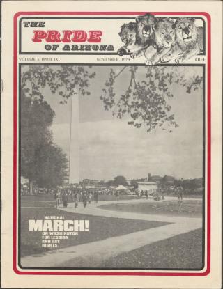 The Pride of Arizona, Vol. 3, Number 10 (Novemer, 1979)