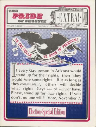 The Pride of Phoenix, Vol. 2, Number 11, (November 3, 1978)