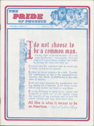 The Pride of Phoenix, Vol. 2, Number 6 (June 16, 1978)