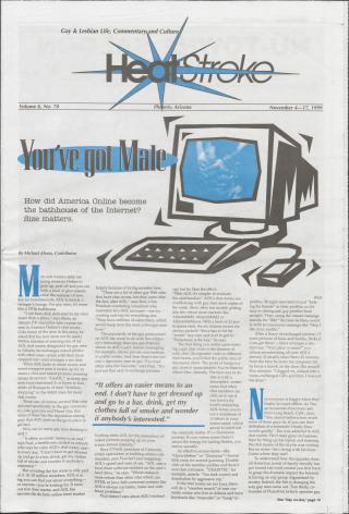 Heatstroke, Vol. 6, Number 78, (November 4- 17, 1999)
