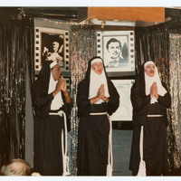 Men dressed as nuns