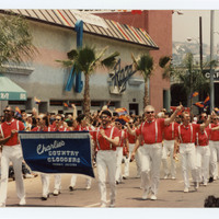 Charlie's Country Cloggers marchers